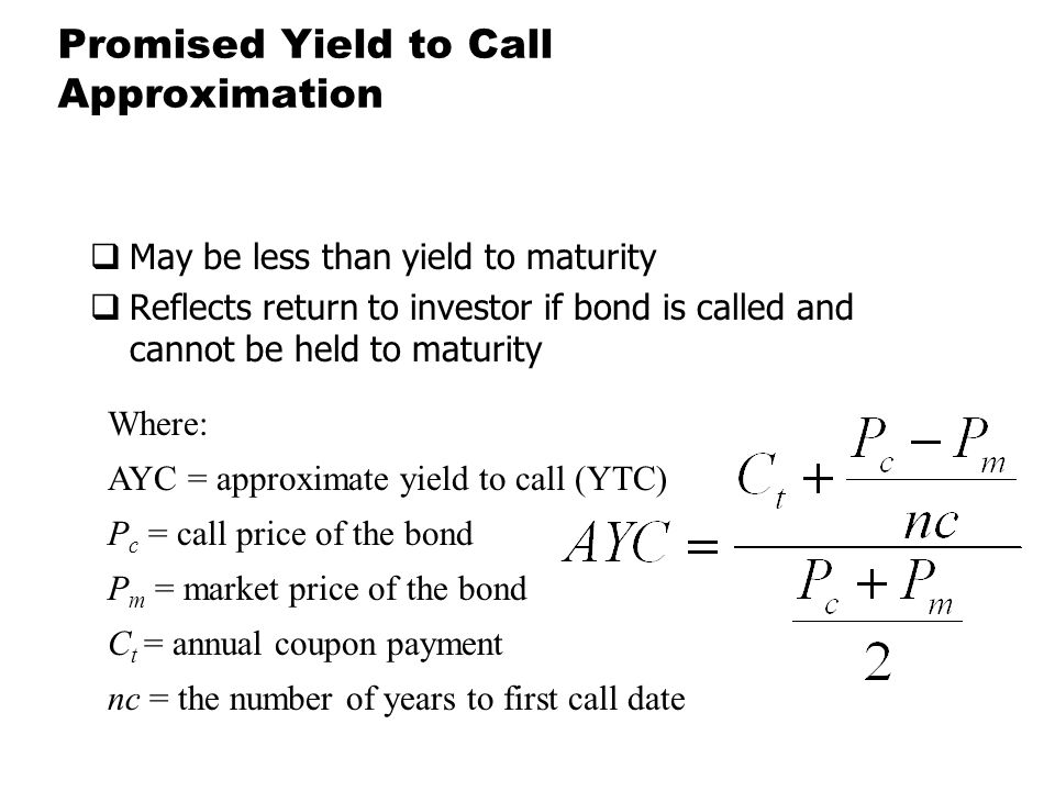 how to calculate call price of a bond