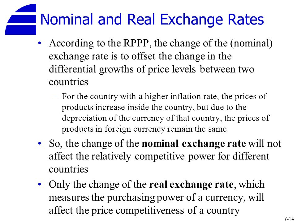 Real Exchange Rates: What Money Can Buy