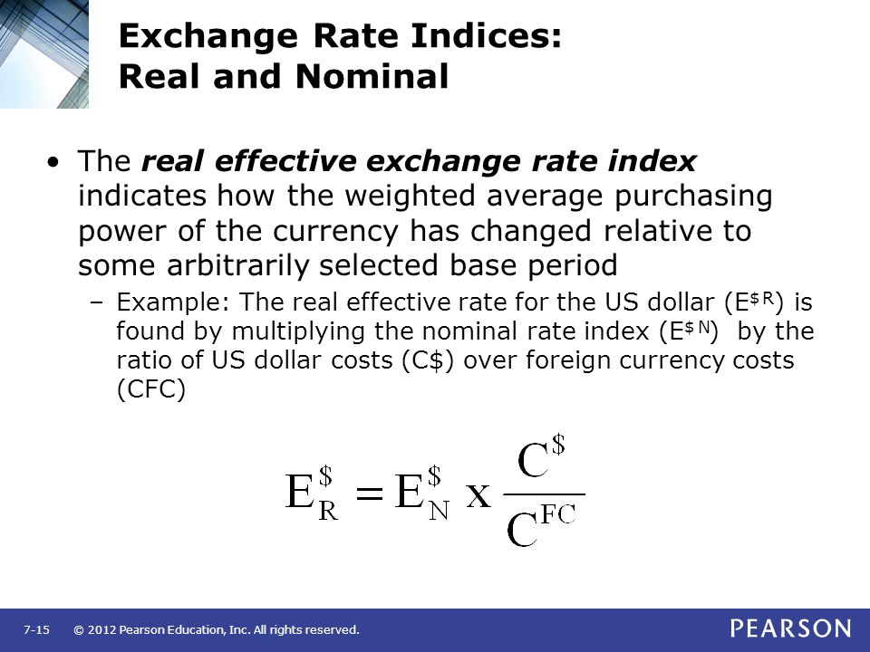 Nominal and Real Effective Exchange Rate: Explained