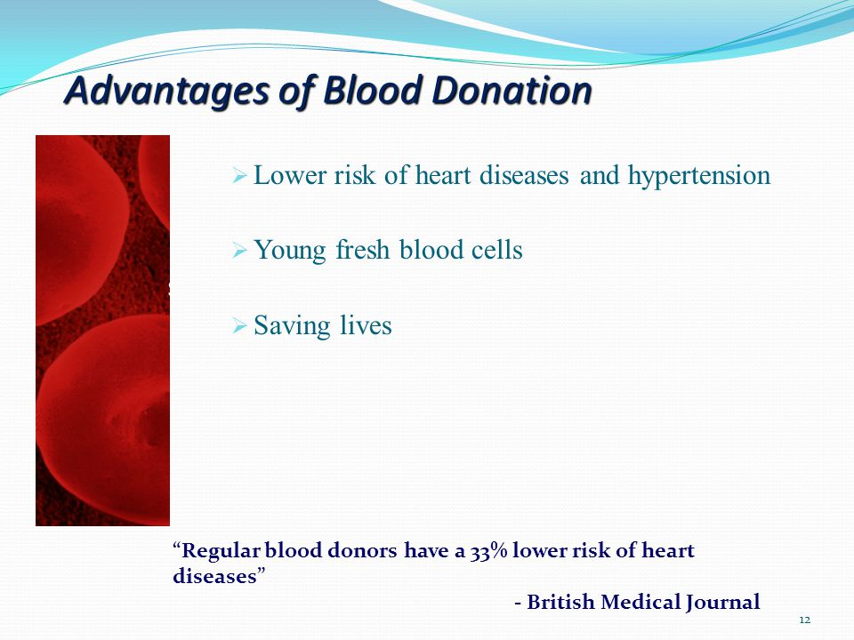 Role of Clinicians in Promoting Voluntary Blood Donation ...