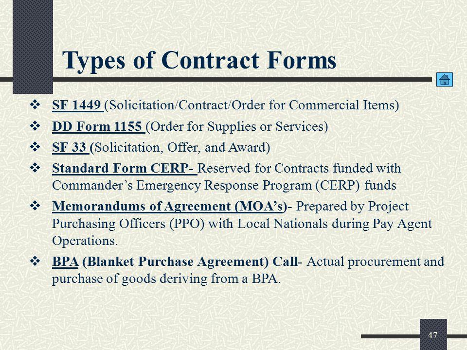 Commercial Vendor Services (CVS)