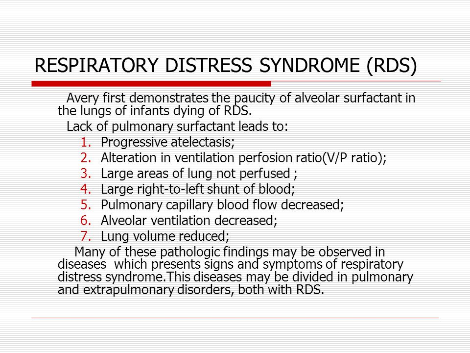 Respiratory distress syndrome - Bing images