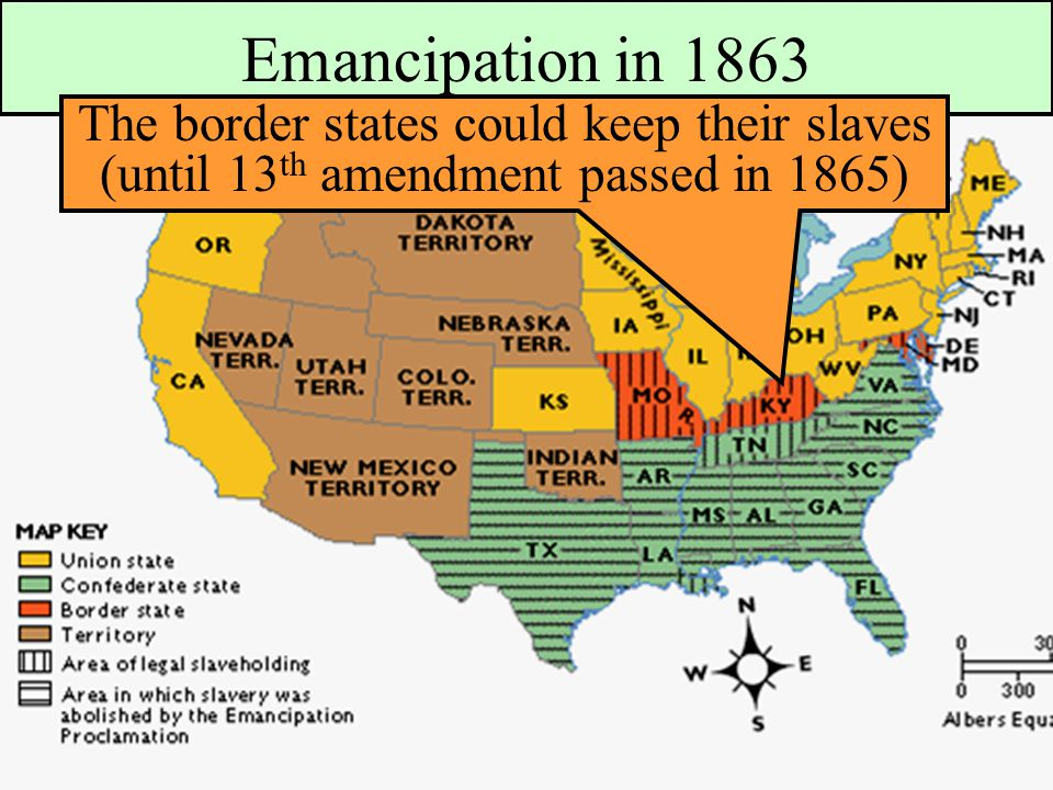 Essential Question What Factors Led To The Outbreak Of The Civil - Union confederate us territories and borderstates map