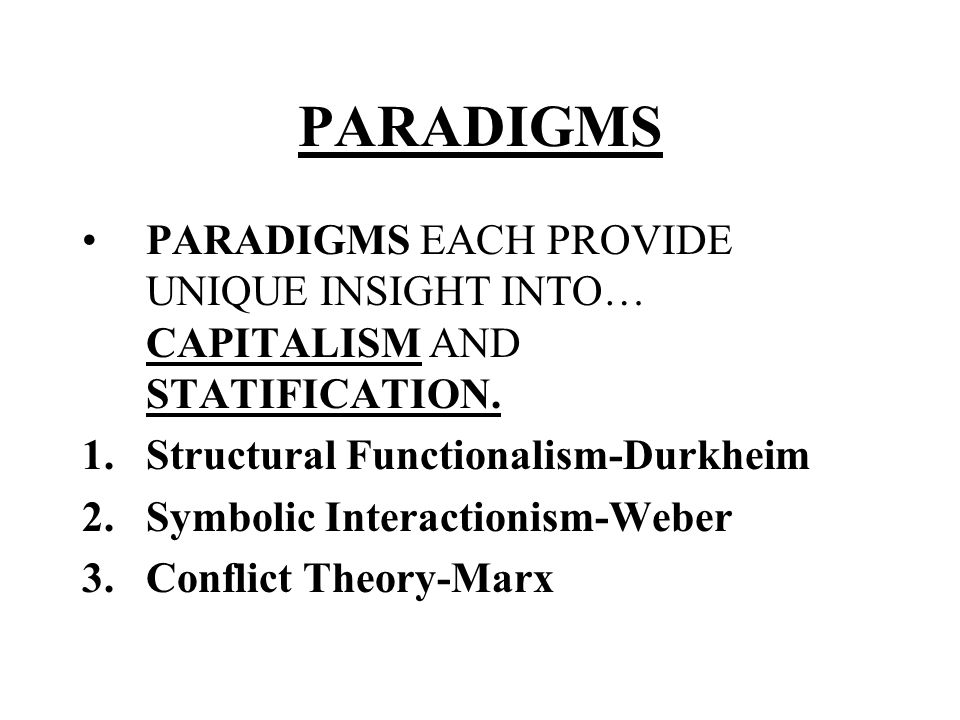 Compare and Contrast Functionalism and Marxism as Models for the Way Society Operates