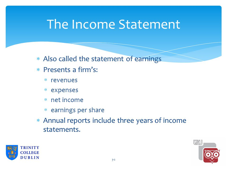 alison de marree winter balance sheet 2 income statement also
