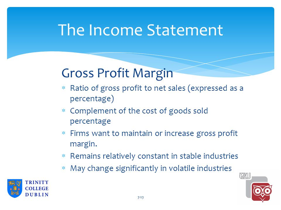 what is the relationship between revenue and gross profit