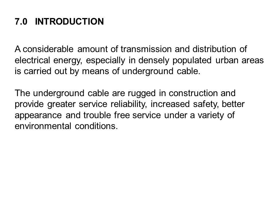 DET 310 UNDERGROUND CABLES - ppt video online download