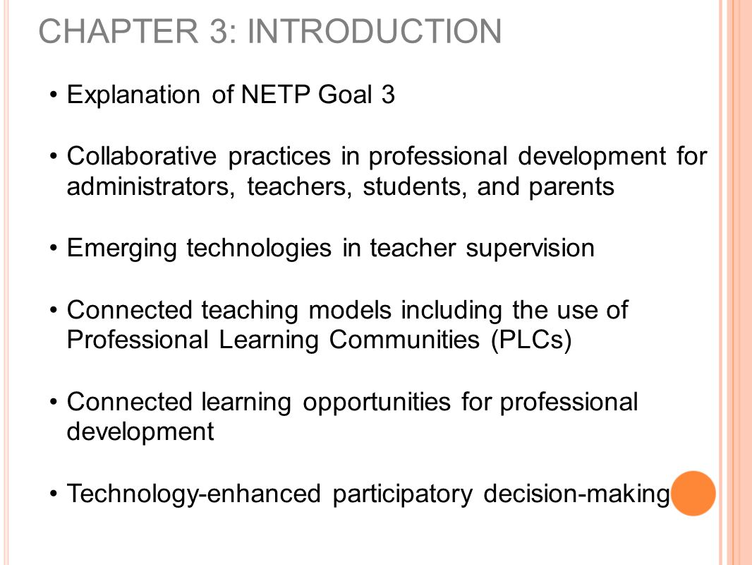 Collaborative Teaching Practices ~ Chapter teacher supervision and professional
