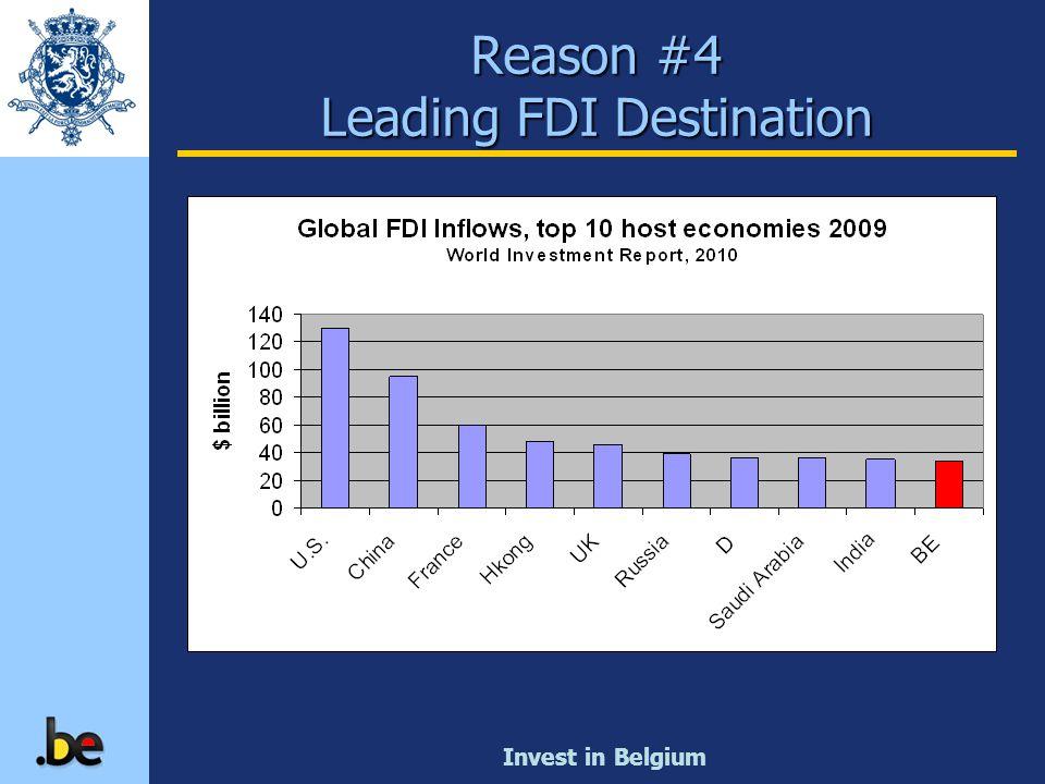 Reason #4 Leading FDI Destination