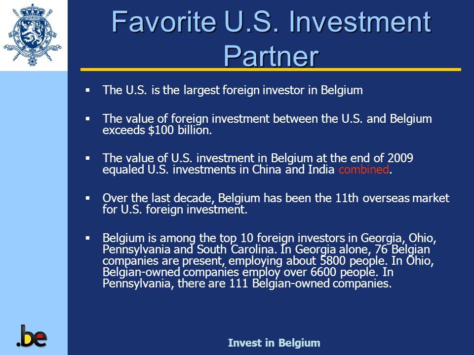 Favorite U.S. Investment Partner