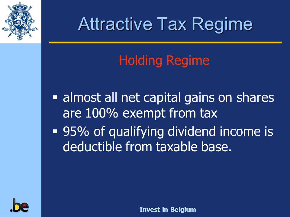 Attractive Tax Regime Holding Regime