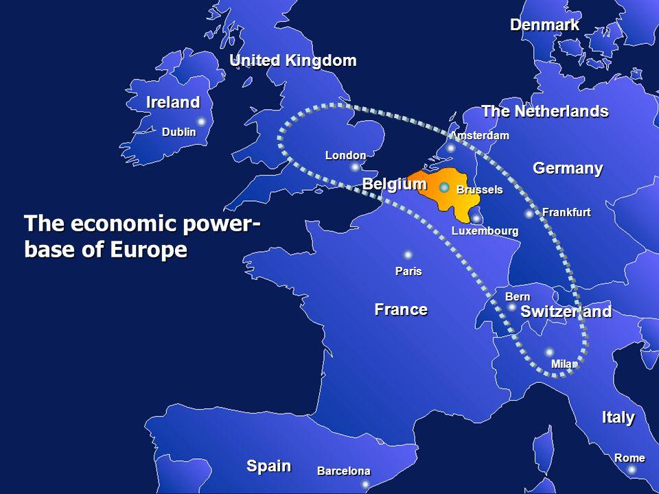 The economic power- base of Europe