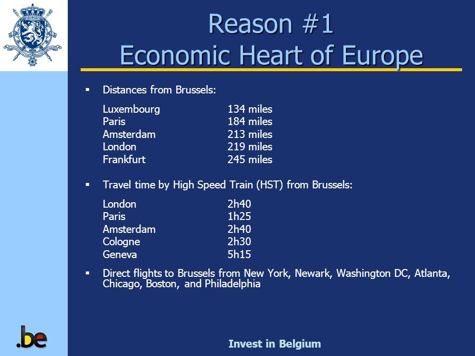 Reason #1 Economic Heart of Europe