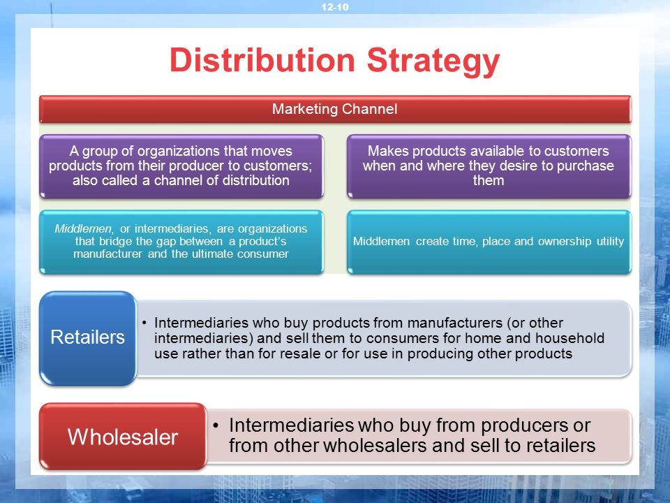 relationship between marketing and physical distribution The role of transportation in population distribution forrest baker, president transportation research and marketing  our goal is: (1) to develop the relationship between transporta-tion and population distribution as it.