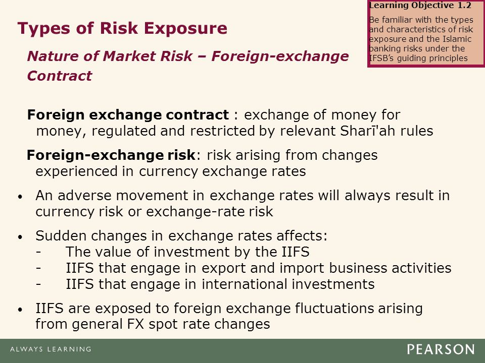 Types of exposure in forex market