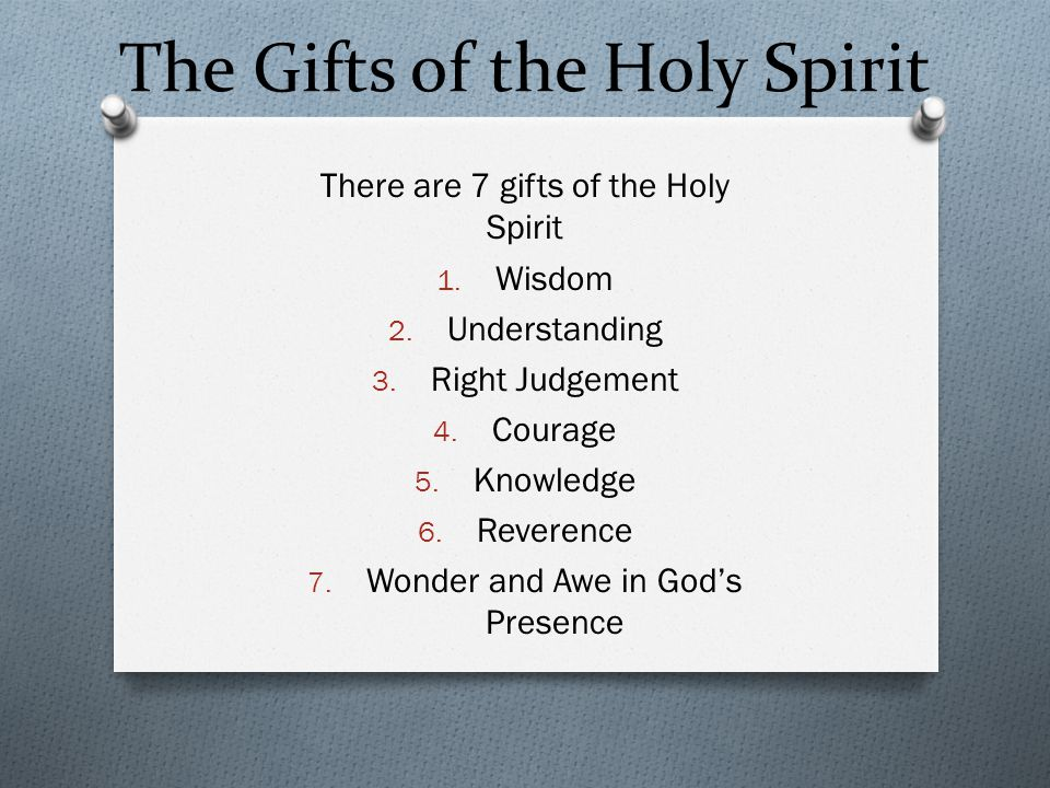 prayer of the holy spirit ppt video online download
