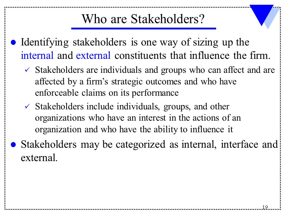 ford s internal and external stakeholders Mcdonalds stakeholders mcdonalds stakeholders introduction mcdonald's is one of the most popular brands that the world currently has consequently, the stakeholders are also categorized in internal and external stakeholders (wwwmcdonaldsat) stakeholders of mcdonalds.