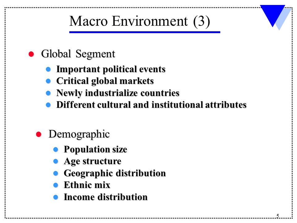 macro environmental analysis of lg