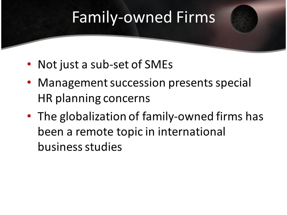 Challenges facing the succession of family owned businesses in Saudi Arabia - Dissertation Example