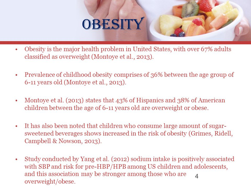 an introduction to the issue of obesity in the united states The increasing prevalence of childhood obesity throughout the united states has   body size has been a cosmetic issue rather than a health issue throughout.