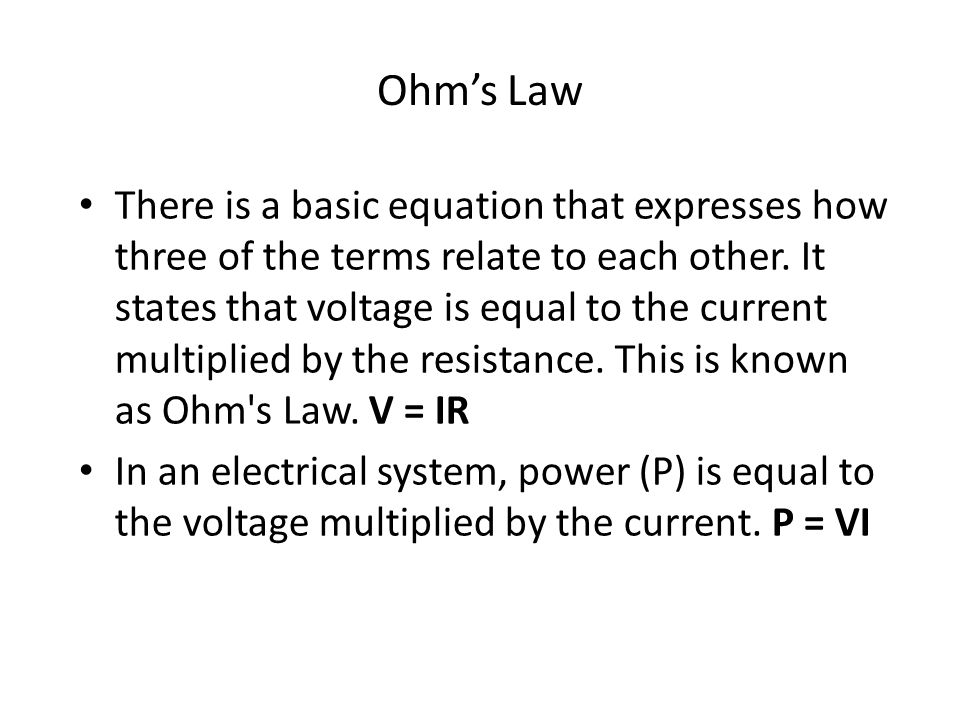 Chapter 1 Introduction to the Personal Computer ppt download – Ohms Law Worksheet