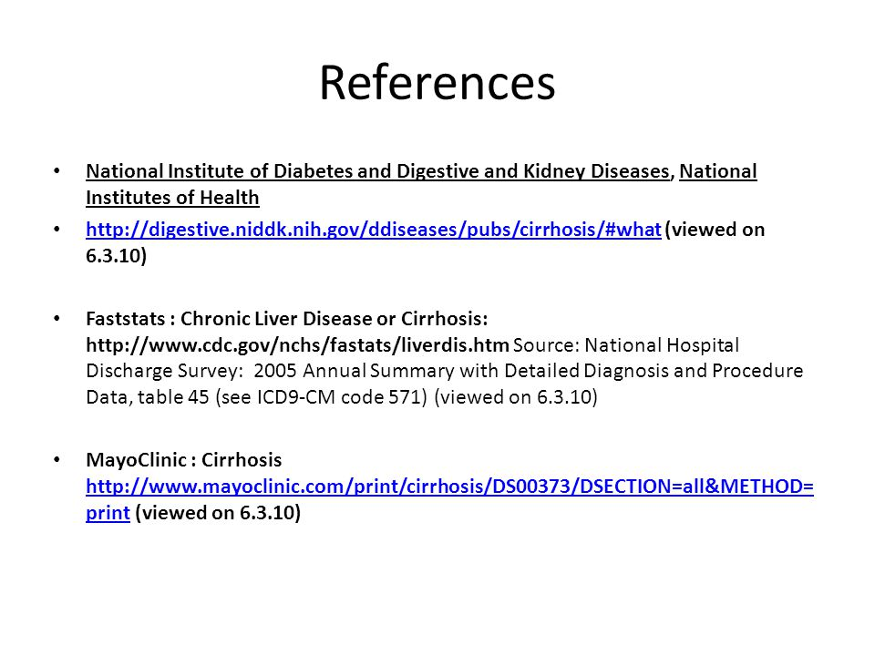 References National Institute of Diabetes and Digestive and Kidney Diseases, National Institutes of Health.