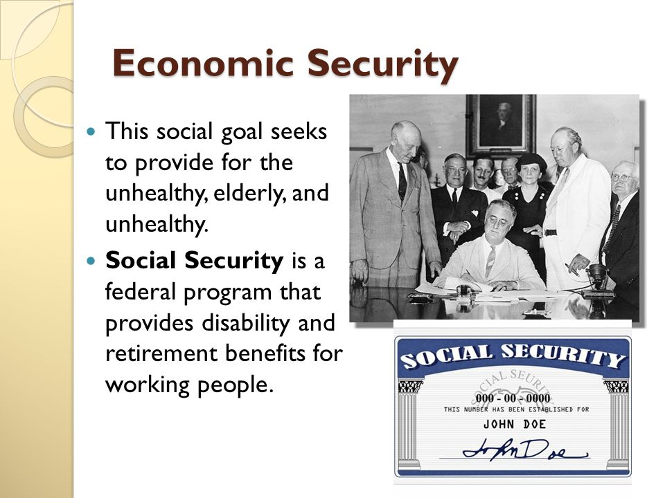 the economic benefits of social security to citizens Over the years, the amount paid in social security taxes has greatly increased this is because there are fewer workers paying into the system for each retired person now receiving benefits today, some workers pay more social security tax than income tax.