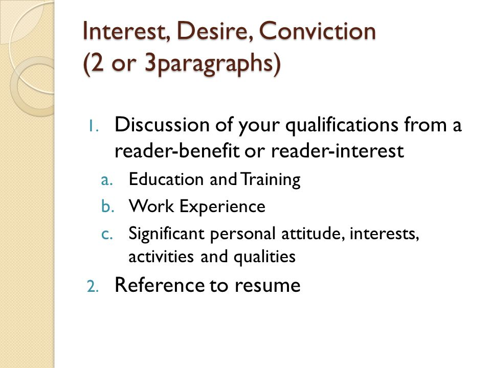 interest and activities in resumes