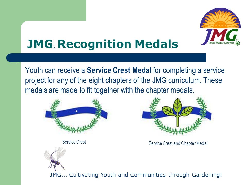 JMG® Recognition Medals