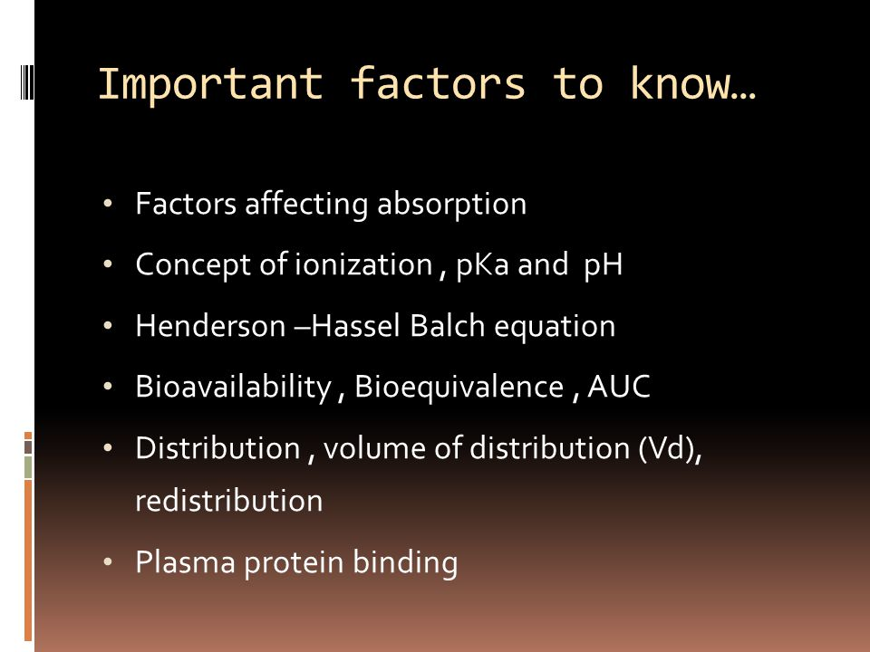 factors affecting protein binding pdf