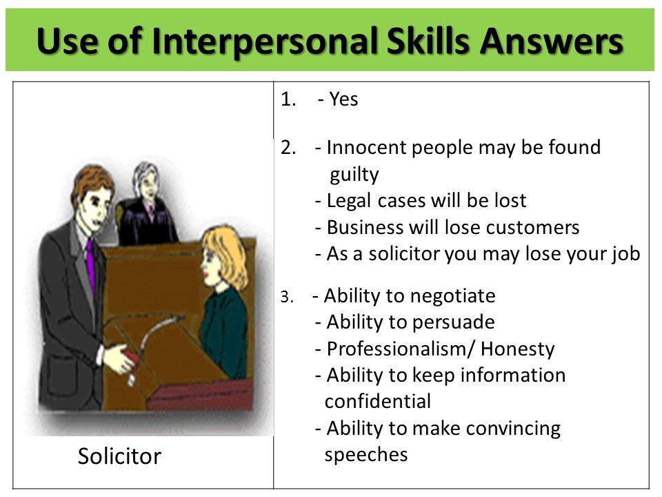 interpersonal goals
