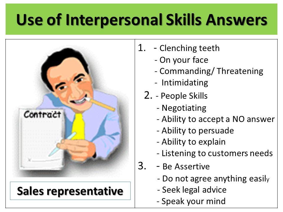 interpersonal skills defined