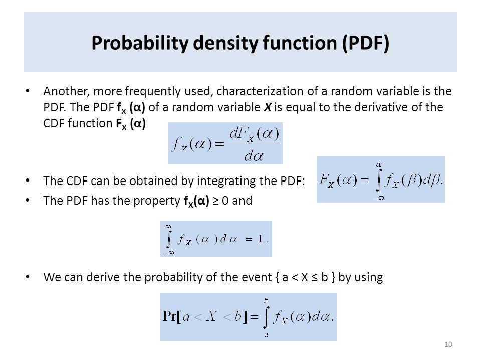how to understand probability density function