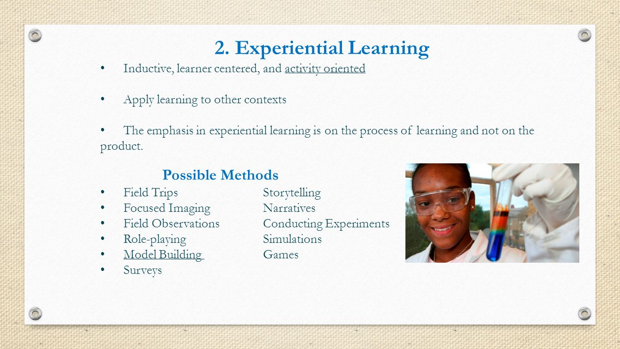 2. Experiential Learning