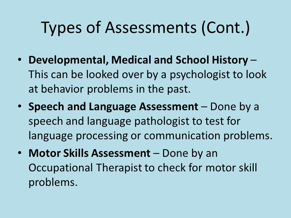 Assessment Of Special Education Students - Ppt Video Online Download