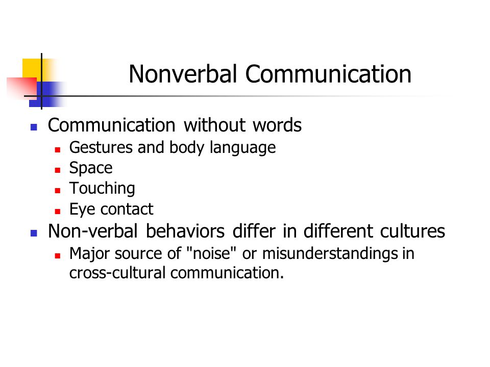 nonverbal communication and cultural differences essay Nonverbal communication essays (examples)  by the differences in non-verbal communication across cultures whether for business or personal interactions, non-verbal communications characterize a culture's values and social norms  nonverbal communication and cultural differences: issues for face-to-face communication over the internet.