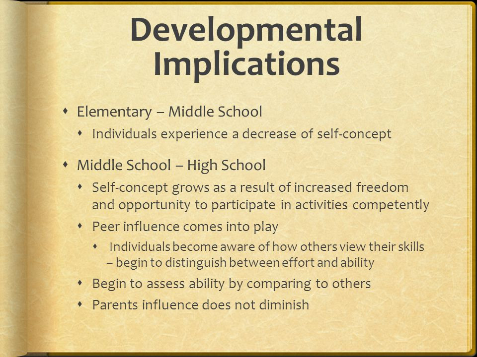 Developmental Implications