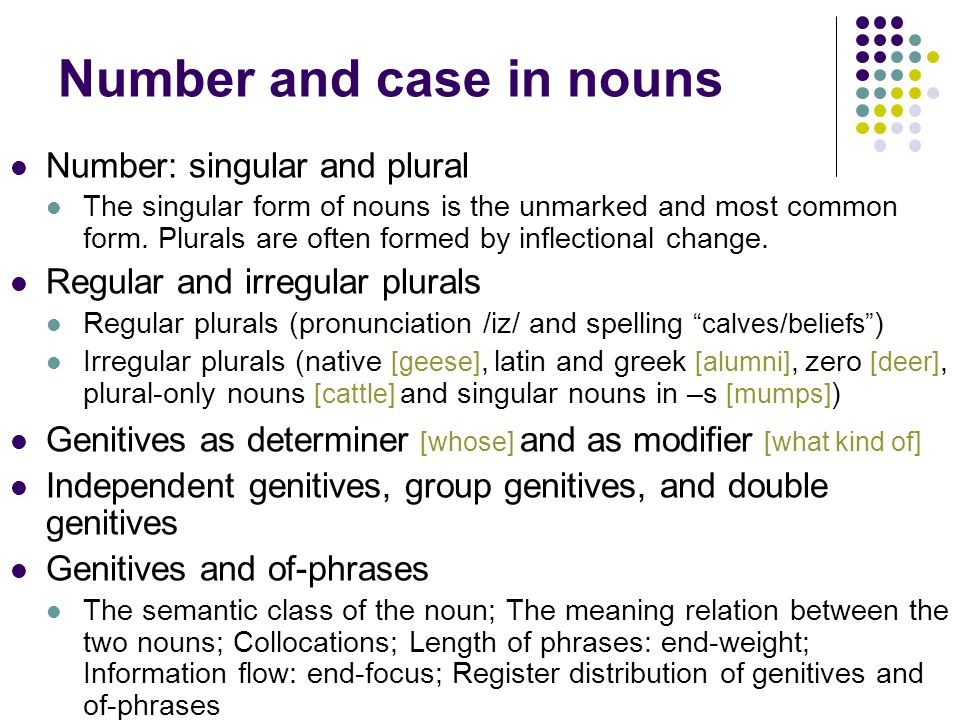 nouns and noun phrases The powerpoint ppt presentation: nouns and noun phrases is the property of its rightful owner do you have powerpoint slides to share if so.