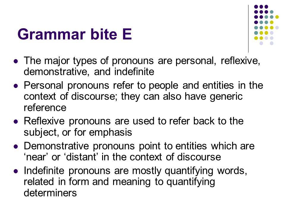 pronoun and noun phrase Unlike a sentence (or clause), a phrase normally does not contain both a subject  and a finite (conjugated) verb a noun phrase is simply a noun (or pronoun).
