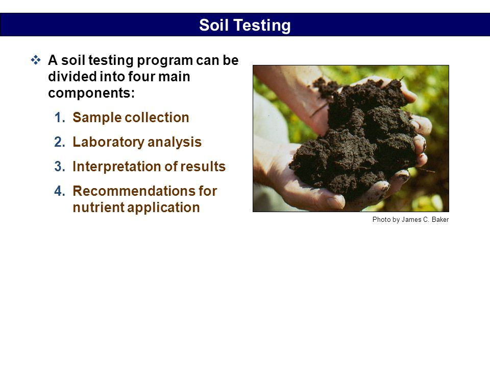 Mid atlantic nutrient management handbook ppt download for Four main components of soil