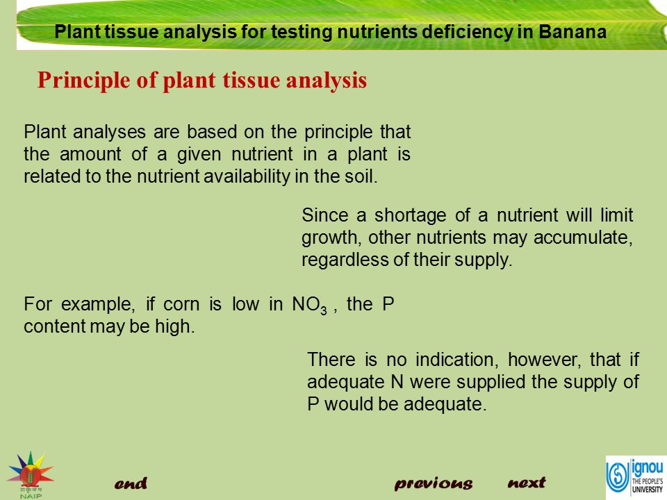an analysis of nutrients Interpretation of plant analysis for the most common use for plant analysis is to diagnose nutrient related interpretation of plant analysis.