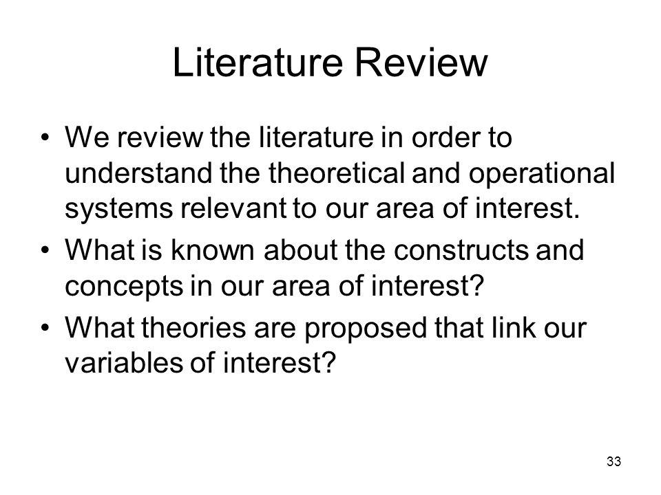 literature review order Guide to writing a literature review guide to writing a at university you may be asked to write a literature review in order to demonstrate your understanding.
