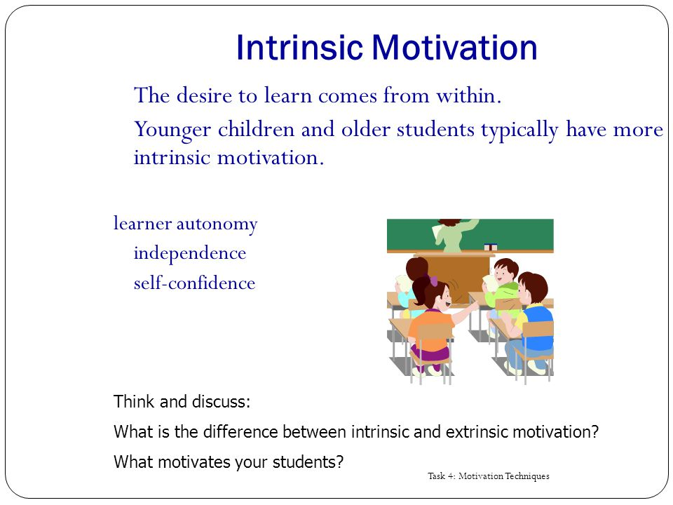 NASP Center - Motivating Learning in Young Children