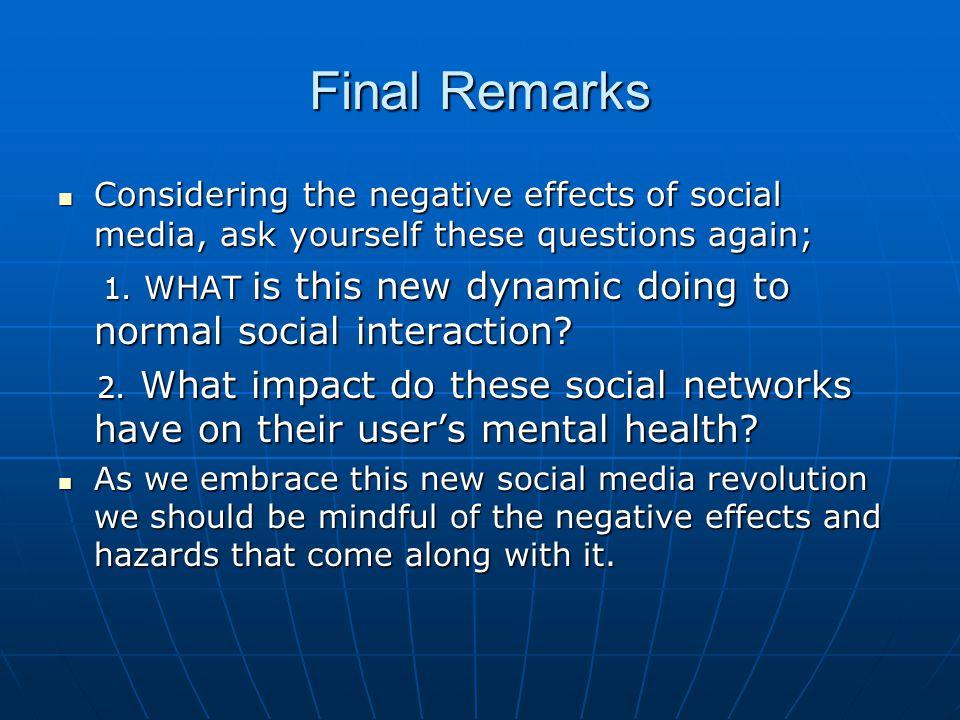 societal impact essay