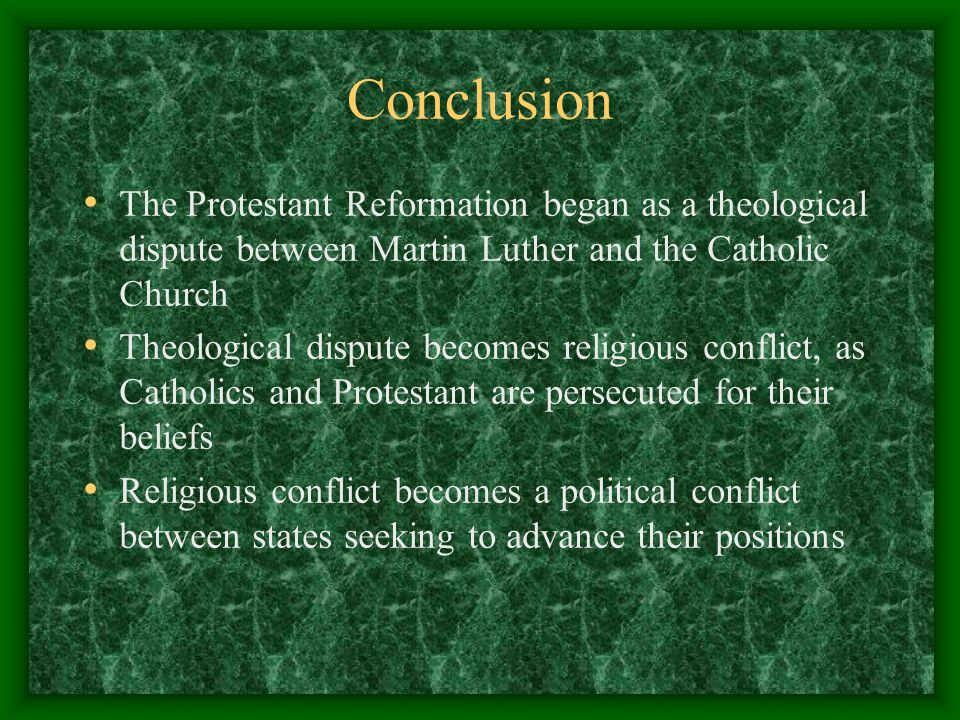 the genesis of the conflicts between martin luther and the catholic church The publication of martin luther's 95 theses on oct 31, 1517, is traditionally celebrated as the birth of the reformation that split western christianity into catholic and protestant.