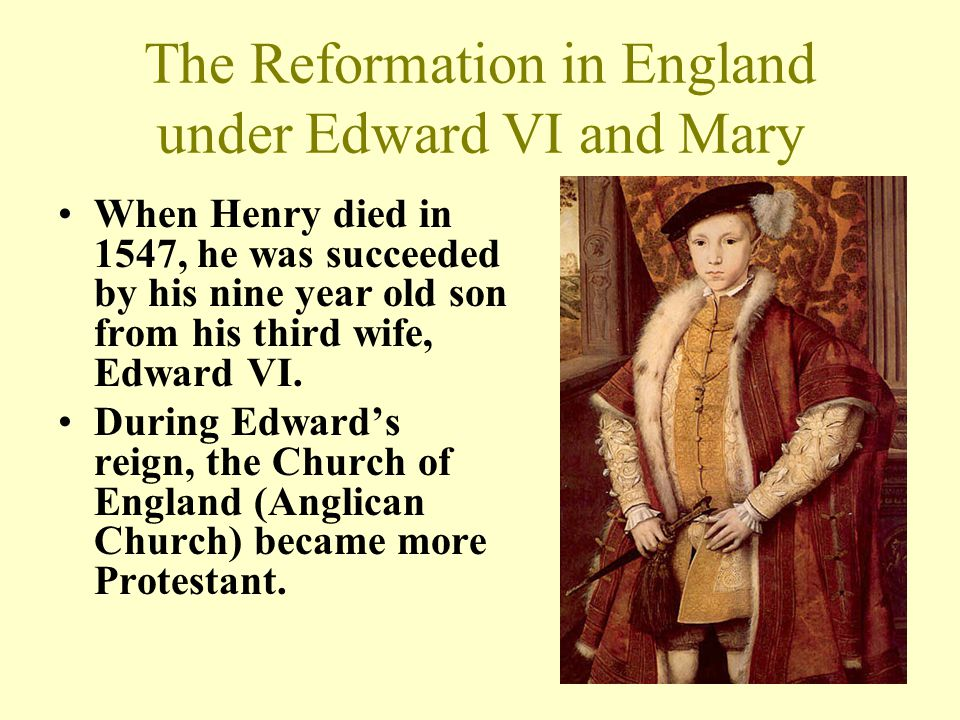 anglicanism during the reign of henry Errors of anglicanism during the reign of queen elizabeth i (r 1558-1603) the trouble in england began during the reign of king henry viii (r 1509-1547) shortly after his accession to the throne as a young man, he married.