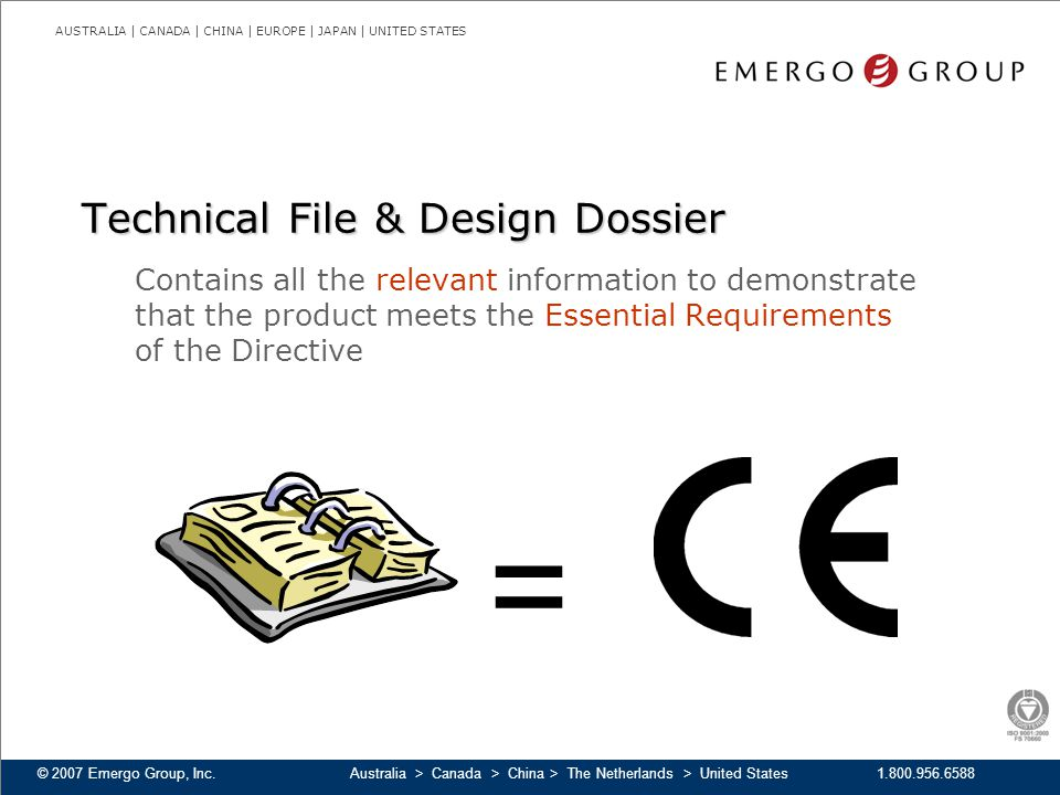 Technical File & Design Dossier