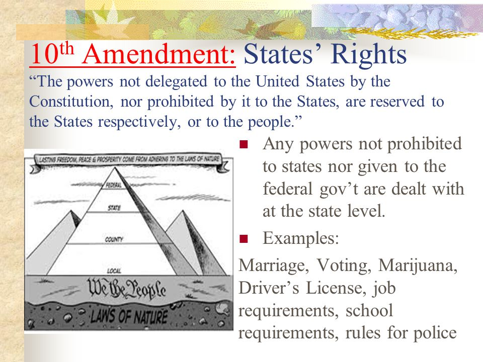 examples of bill of rights in the united states The bill of rights is the first 10 amendments to the constitution it defines citizens' and states' rights in relation to the government it defines citizens' and states' rights in relation to the government.