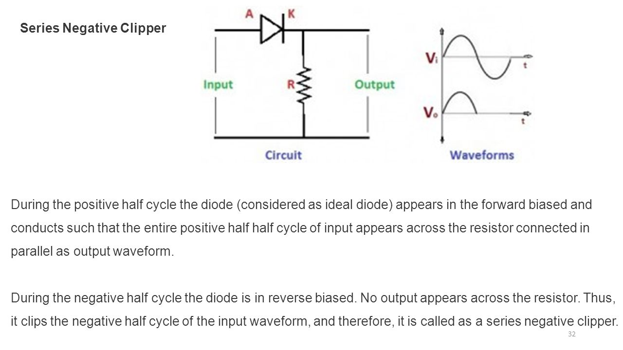 Diode Clipper Circuits Parallel Wiring Diagram And Ebooks Applications Ppt Download Clamp Circuit Drawing Signal
