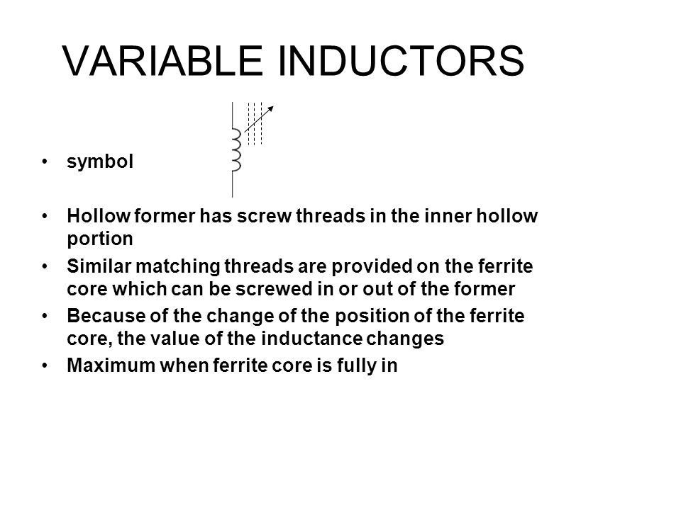Nice Symbol Of An Inductor Photos - Wiring Diagram Ideas ...